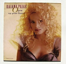 RAIANA PAIGE...OPEN UP YOUR HEART... .MAXI 33T