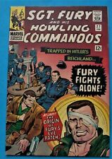 SGT. Fury and His Howling Commandos #27 1966 Issue (Nice VF)