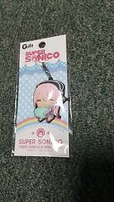 Super Sonico- Chibi Character- Rubber Key Chain Strap- Japan Import