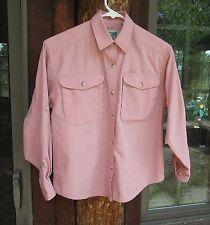 TravelSmith Blouse Sz PXS Pink Long Sleeve Shirt Cotton Blend
