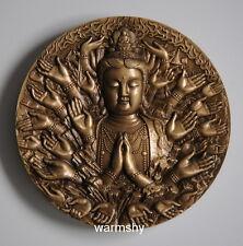 China ShenYang Mint 2014 Thousand-hand Bodhisattva Brass Medal Coin 60 MM