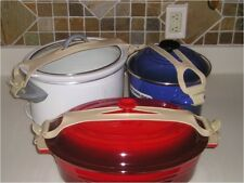 Bands For Crock Pot, Pots, Pans Large Small Kit New !! (Crock Pots Not Included)