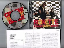 ROXETTE Crash! Boom! Bang! JAPAN CD TOCP-8201 w/PS+fold-out INSERT Free S&H/P&P