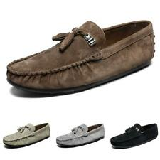 Mens Pumps Flats Breathable Soft Slip on Loafers Driving Gommino Moccasins Shoes