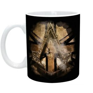Assassins Creed Syndicate - Keramik Tasse - Golden Union Jack - Geschenkbox