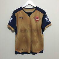 Arsenal Puma Alexis #17 2015/2016 Soccer Football Shirt Jersey Mens Large