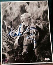 FRANK OZ SIGNED AUTOGRAPH STAR WARS YODA OPX HOLOGRAM 11x14 PHOTO PSA/DNA Z56662