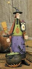 """Witch with Owl and Caldron - """"Hagatha"""" - Williraye - 6140 - New in Box"""