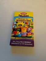Weebles - Welcome to Weebleville (VHS, 2005)