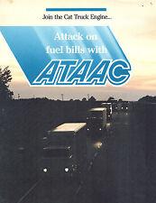 Caterpillar Ataac 4 Pg Foldout Brochure
