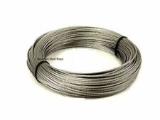 New Cloth Line PVC Cover Metal Steel Core Strong Washing Plastic Rope 2x10 Metre