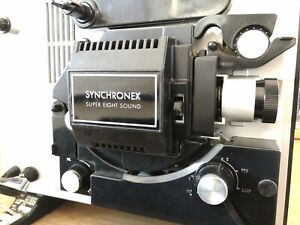 Synchronex super 8 sound movie projector