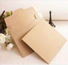 20x Vintage Kraft Paper CD Envelope Case Bag Wedding Ceremony Anniversary Photos