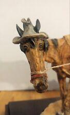 Giuseppe Armani rare limited edition. Fantastic Old Man and horse and carriage