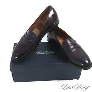 NIB #1 MENSWEAR Brooks Brothers USA Alden 00003 #8 Shell Cordovan Loafers 10 A