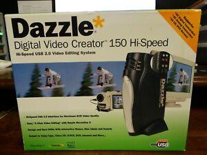 Dazzle Digital Video Creator 150 Hi-Speed USB 2.0 Video Editing System