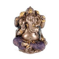 "MINIATURE GANESHA STATUE 2"" Small Hindu Elephant God Mini Resin NEW Lord Ganesh"