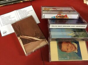music cassette tapes INDIE bundle some still sealed all unplayed mint