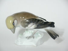 Vintage Karl Ens Hand Painted Porcelain Bird Figurine -  Sparrow Finch