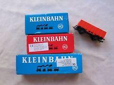 Lot of 4 Kleinbahn Plastic Trains Made in Austria HO VGC