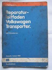 VW T3+Syncro+Joker Diesel D+TD CS+JX Motor Reparaturanleitung Reparaturleitfaden