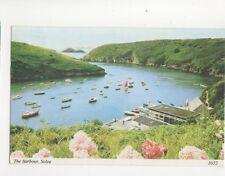 The Harbour Solva 1984 Postcard 087b