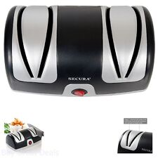 Professional Electric Knife Sharpener 2 Stage Chefs Home Kitchen Tool New