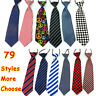 Elastic Neck Adjustable Tie Baby Boy Girl Child Toddler Wedding Kids Necktie