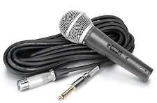 Takstar TA58 Dynamic Cardioid Live Vocal Mic with Switch Vocal Microphone Mic