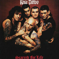 ROSE TATTOO Scarred For Life CD BRAND NEW Angry Anderson We Can't Be Beaten