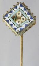 Italian Micro Mosaic Stickpin Victorian Antique Italy Italian