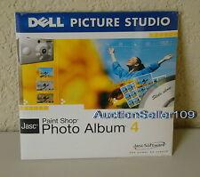 NEW Dell Picture Studio Jasc Paint Shop Photo Album 4 Dell P/N H7729