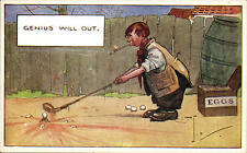 Golf Comic. Genius Will Out by J. Salmon # 2163.