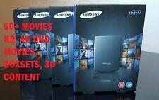 SAMSUNG uhd video Confezione da 50+ 4k UHD Film 2017/18 funziona su tutti i televisori moderni