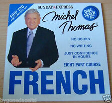 MICHEL THOMAS - FRENCH DISC SEVEN / 7 DAILY EXPRESS PROMO AUDIO CD(FREE UK POST)