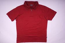Carlo Colucci camiseta polo t-shirt burdeos señores talla s