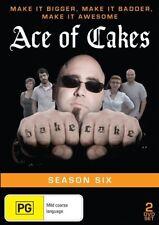 Ace Of Cakes : Season 6 (DVD, 2014, 2-Disc Set) - Region Free