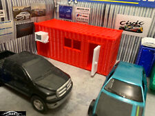 1:64 Site Container Office for Farm toy Truck Construction Garage Scenery