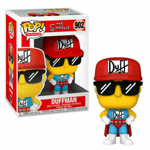 The Simpsons Duff Mann 9.5cm Pop TV Vinyl Figur Funko 902 UK Verkäufer