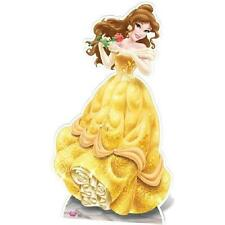 BELLE CARDBOARD CUTOUT.BEAUTY AND THE BEAST LIFESIZE CUTOUT. PARTY DECORATION