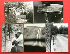 F15232 Geschichte & Politik Fotokunst Original Gross Foto Mauer Grenze 1990 Grenzstreifen Mit Grenzzaun