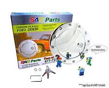 *NEW* Chrome Locking Fuel Door - Keyed Gas Cap Kit - Custom Dakota Truck Parts