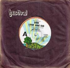 "BAD COMPANY - GOOD LOVIN' GONE BAD - RARE 7"" 45 VINYL RECORD - 1975"