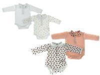 4er Set Baby Body Bio Baumwolle Pyjama Strampler Kleinkind 0 - 24 Monate Golden