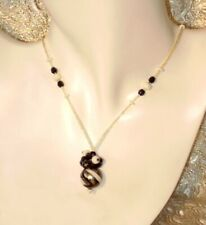 Murano Glass Necklace - Gift Boxed - Made in Italy - Zebra Bon Bon