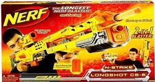 NERF LONG SHOT CS-6 Hasbro Action Waffen Laser Schlacht Kinder Spiel NEUWARE