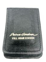 Vintage Prince Gardner Leather Full Grain Cowhide Money Wallet Clip