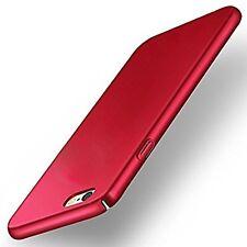 """360 Degree""""Sleek Rubberized Matte Hard Case Back Cover For Oppo Neo 7 red"""