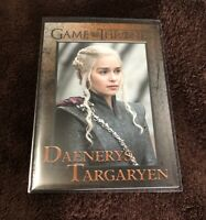 2018 Rittenhouse Game of Thrones Season 7 #25 Daenerys Targaryen Card