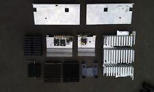 8Pp63 Assorted Aluminum Heat Sinks, 10 Pieces, 1#4 Of Metal, Good Condition